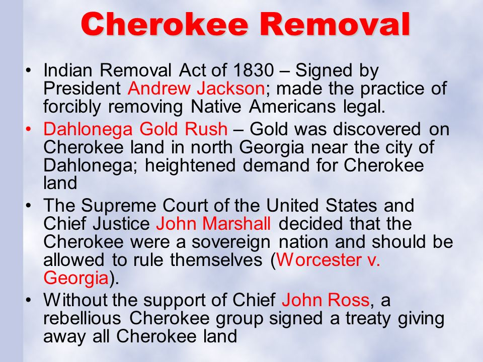 "a study of the removal act and the native americans Andrew jackson's ""indians"" – his truth or engineered the systematic forced removal of native americans from their 1830 the indian removal act is."
