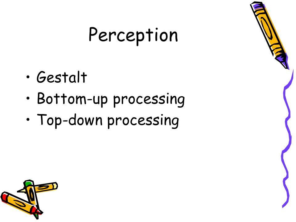 Bottom up prinzip