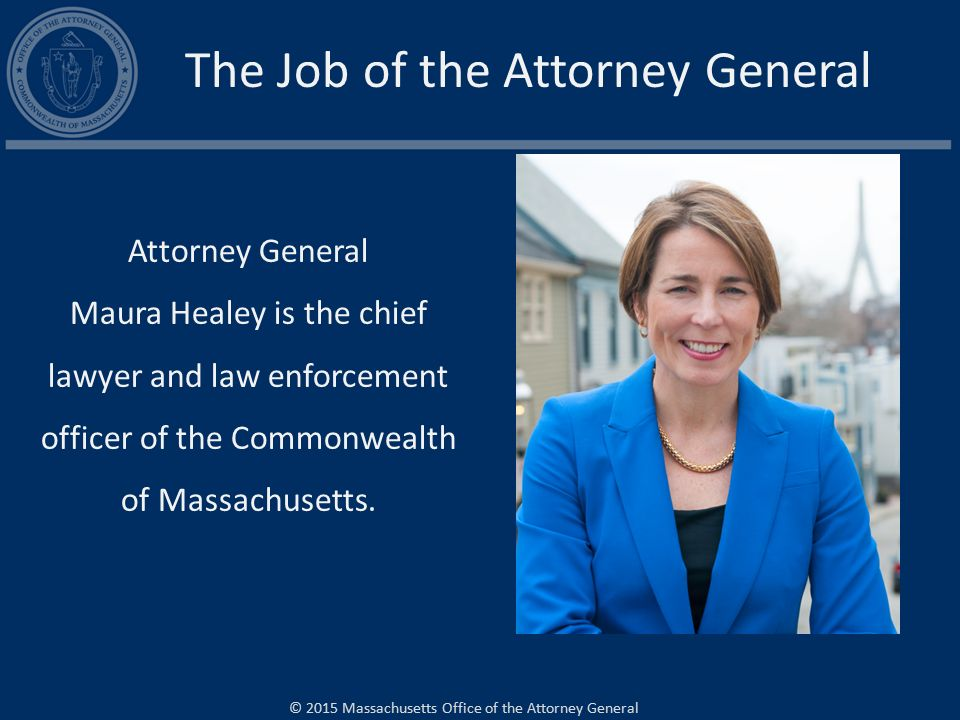the job of the attorney general