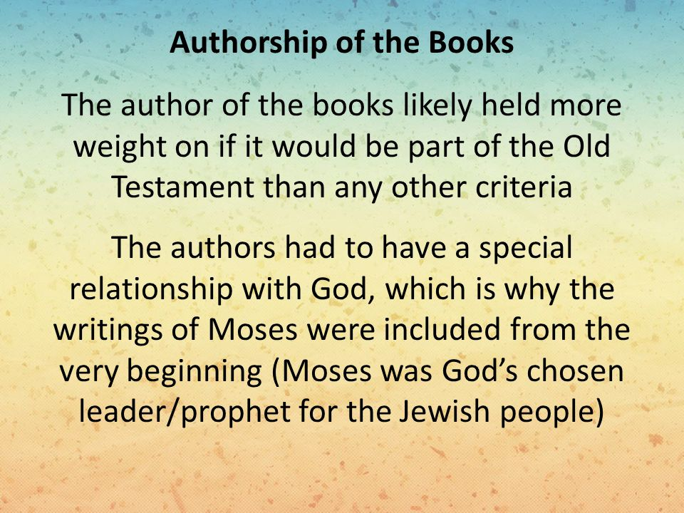 gods chosen leaders in the old testament of the bible Old testament verses found in the new testament  matthew 12:18-21 - 'behold, my servant whom i have chosen, my beloved.