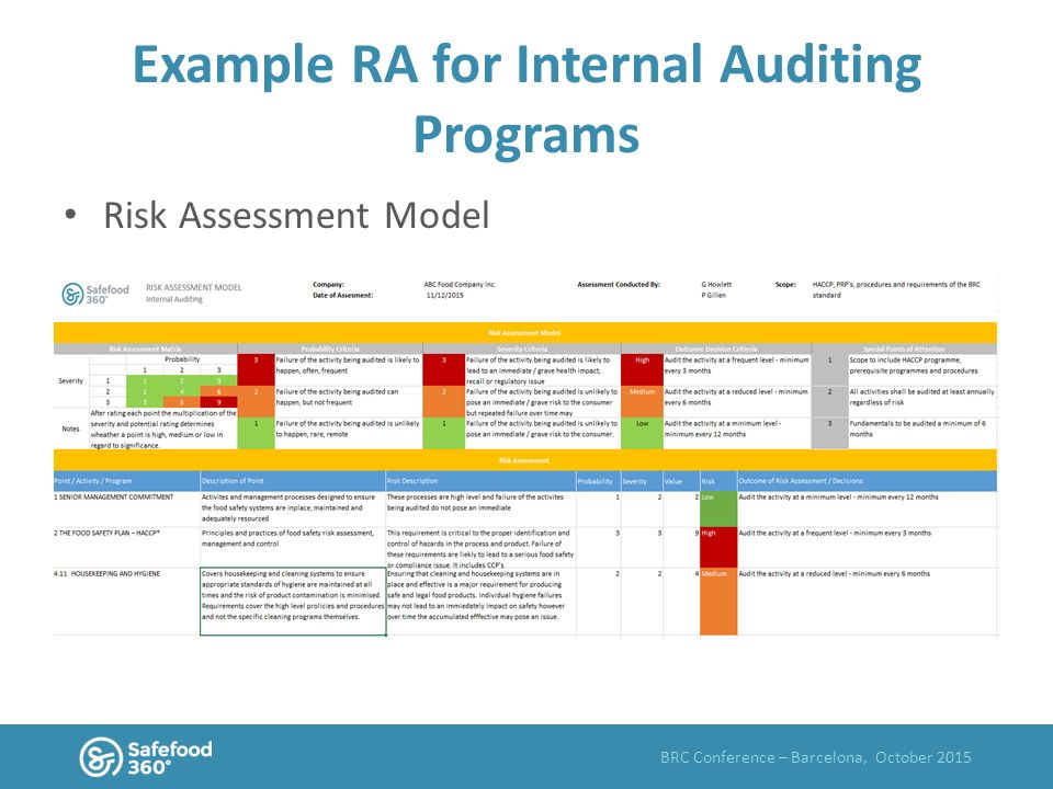 What is risk assessment ppt video online download risk assessment model example ra for internal auditing programs pronofoot35fo Choice Image