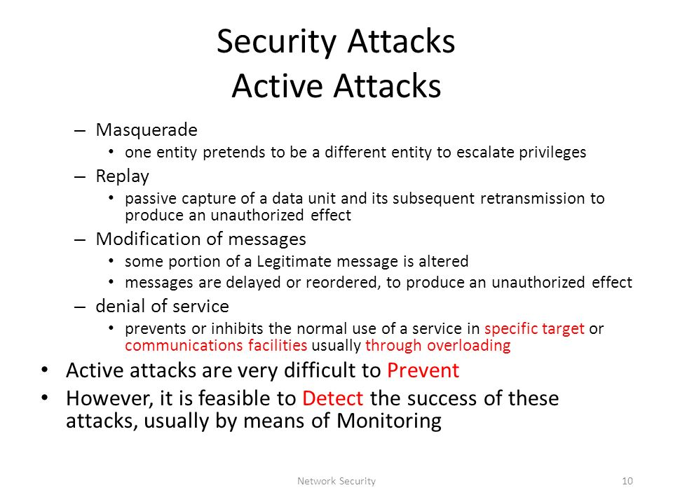 passive and active security attacks Understanding active cybersecurity as a step beyond passive security, it's important to have a team of security analysts who provide another layer of defense, respond to alerts, and analyze threats threats are becoming more advanced and sophisticated, so organizations need the right personnel to meet.