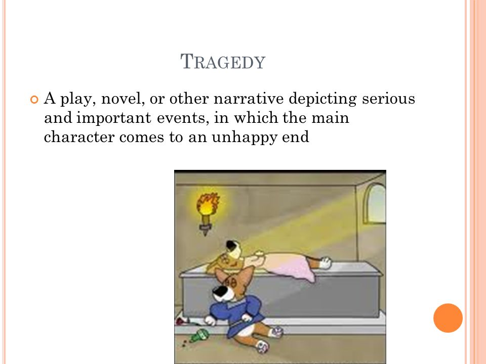Tragic ending of the play essay
