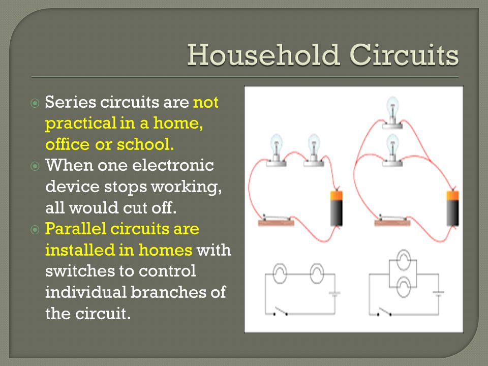Pretty Household Circuits Images - Electrical Circuit Diagram Ideas ...