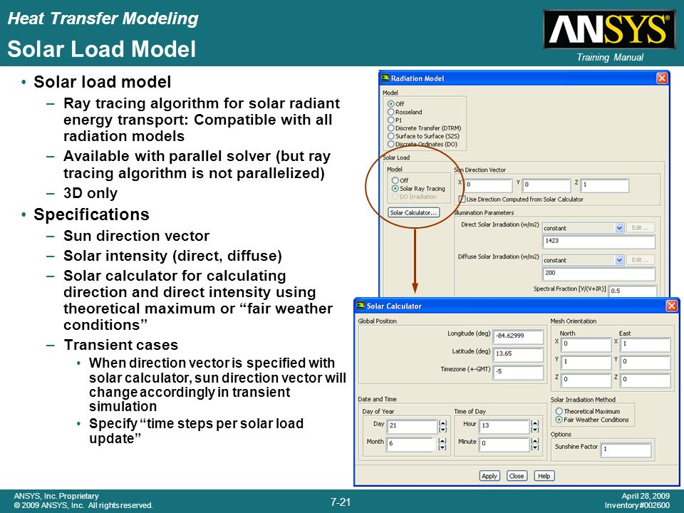 Chapter 7 heat transfer modeling ppt video online download - Direct energie simulation ...