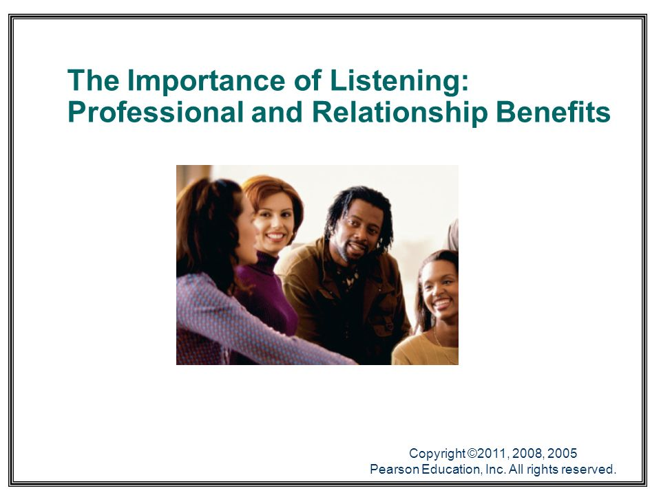 Why Is Active Listening Important?