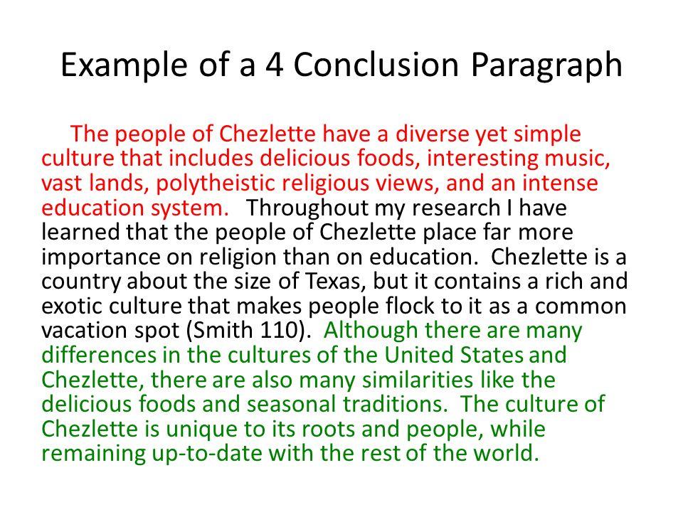 do conclusion paragraph research paper