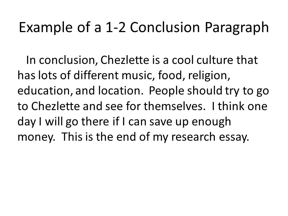 conclusion on religion essay