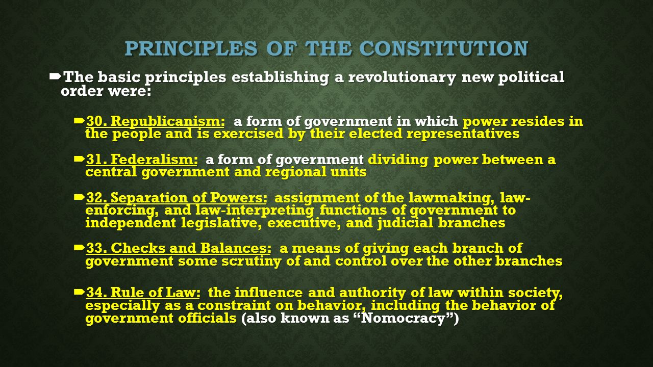 Unit 6: Why THIS type of government? How did we get here - ppt ...