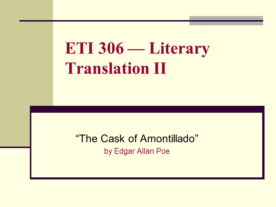 essay about literary translation