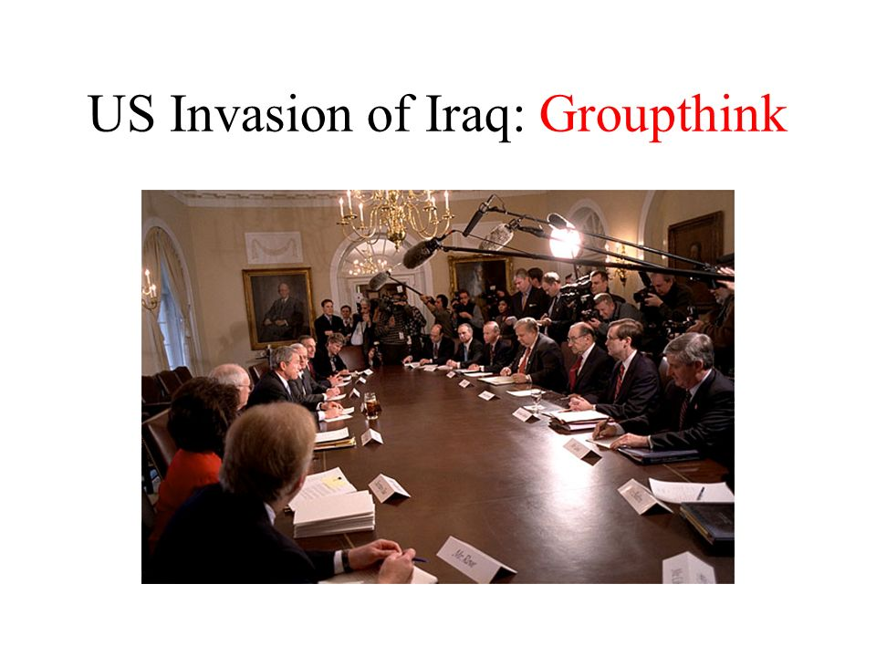 groupthink and 9 11 Janis prescribed three antecedent conditions to groupthink: 9 1 high group cohesiveness  after the september 11 attacks, stress, promotional leadership, and intergroup conflict were all factors that gave rise to the occurrence of groupthink.