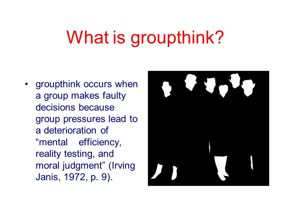 Groupthink Clip Art Ppt Video Online Download