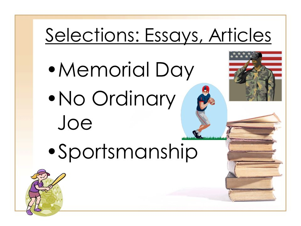essay about sportsmanship Good sportsmanship essay - essays & dissertations written by top quality writers get an a+ help even for the hardest assignments allow the specialists to.