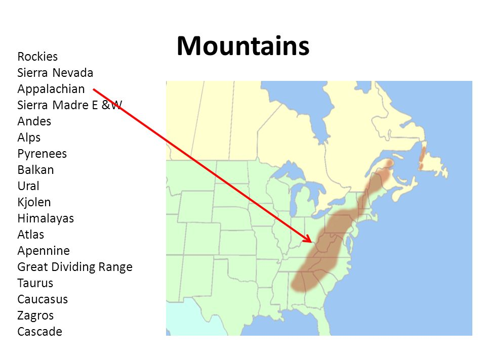Tornadoes Dont Happen In Mountains Or Do They Debunking The - Sierra nevada mountains on us map