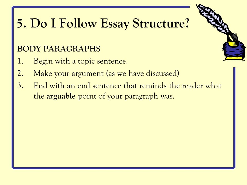 Argumentive Essay Example