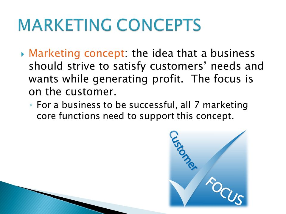 Core Marketing Concepts Essays Five Marketing Concepts Explained With Examples