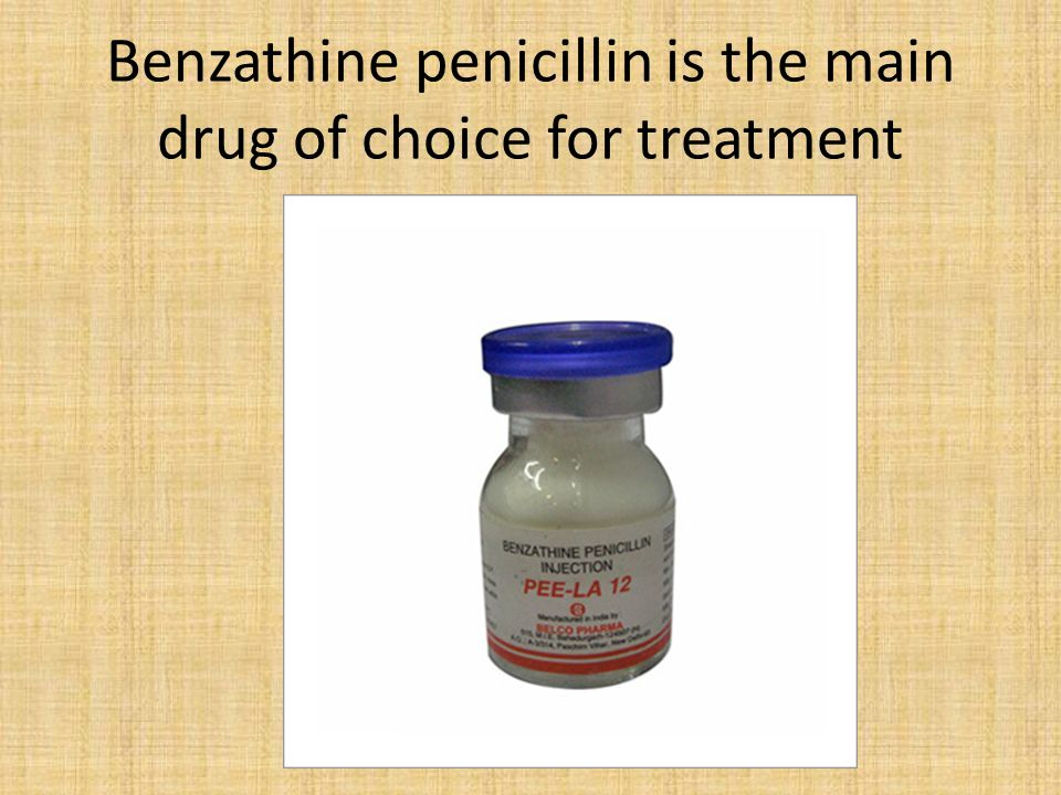 Benzathine Benzylpenicillin - an overview | ScienceDirect ...
