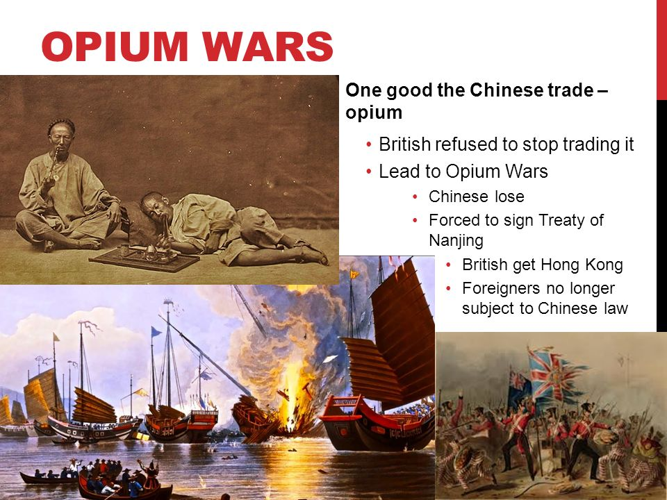 trade and opium war The economic, social, and political effects of the the east india co was afraid of a direct trade with opium the opium war had led the people of china to.
