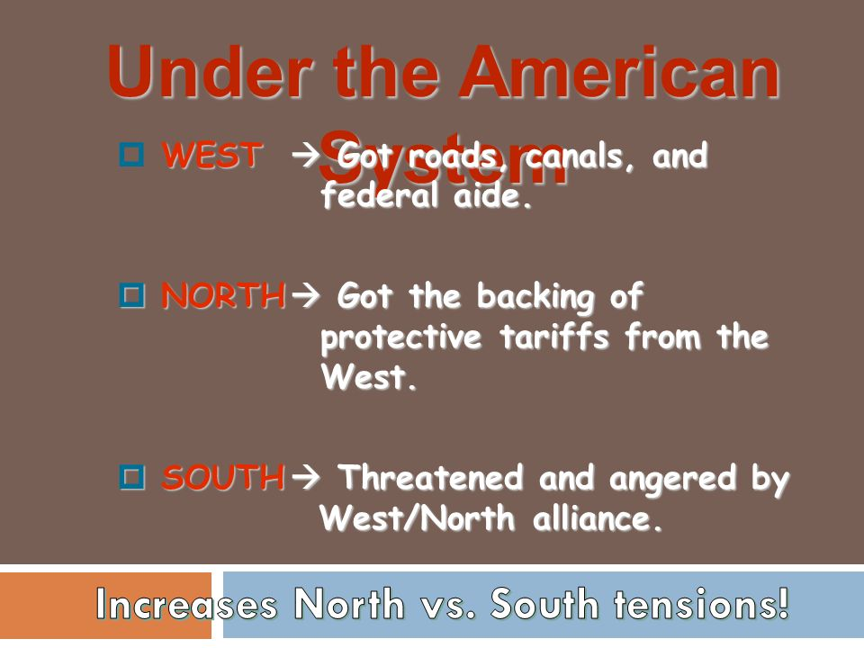 how did westward expansion affect tensions between the north and south Slavery and the origins of the civil war  the showdown over westward expansion came in  stimulated and exacerbated the tensions between north and south,.