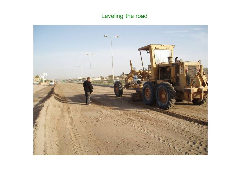 Leveling the road