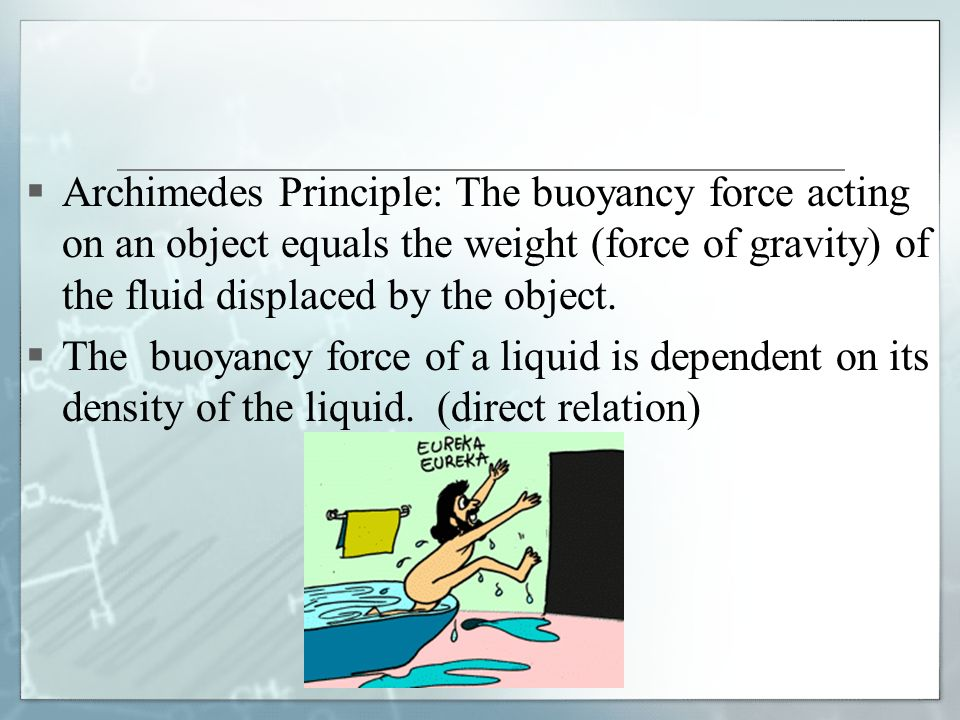 Chapter 5: Density and Buoyancy - ppt video online download