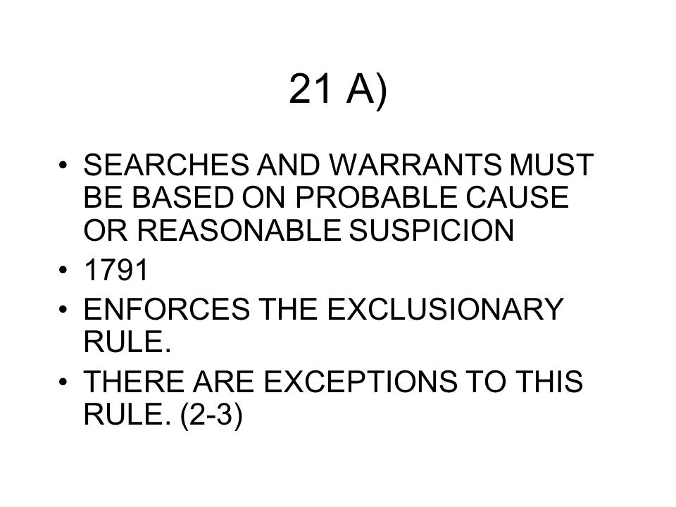 Reasonable Suspicion School Searches CHAP 3 QUIZ IDE...