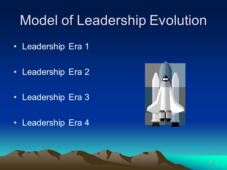Model of Leadership Evolution