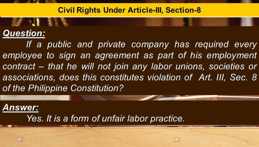article iii bill of rights pdf