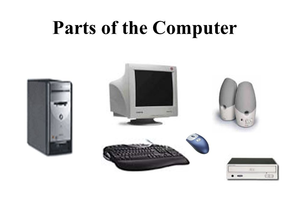 About The Basic Parts of a Computer with Devices