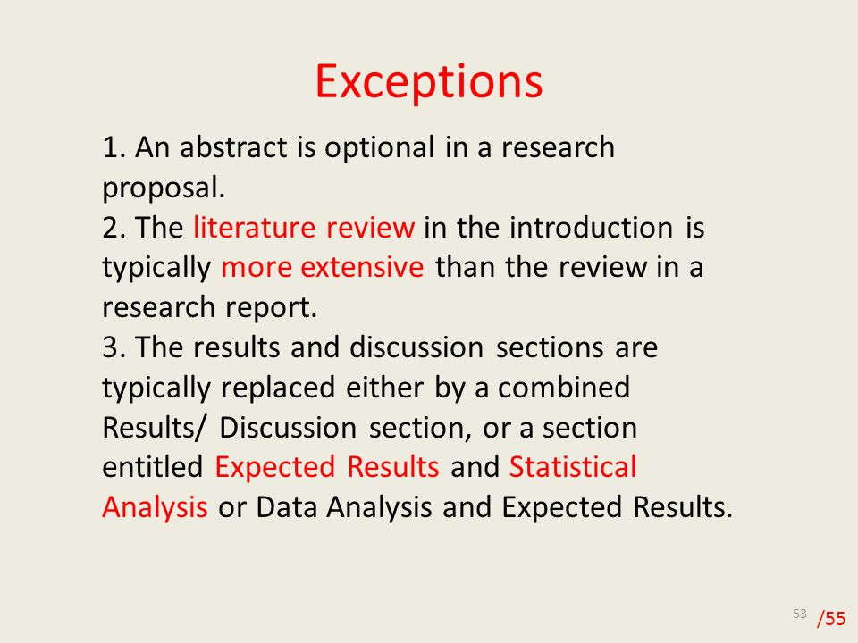 Dissertation proposal expected results