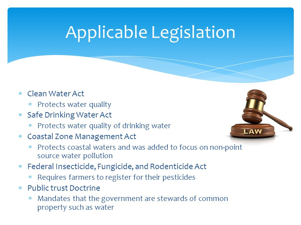 Federal Register Safe Drinking Water Act