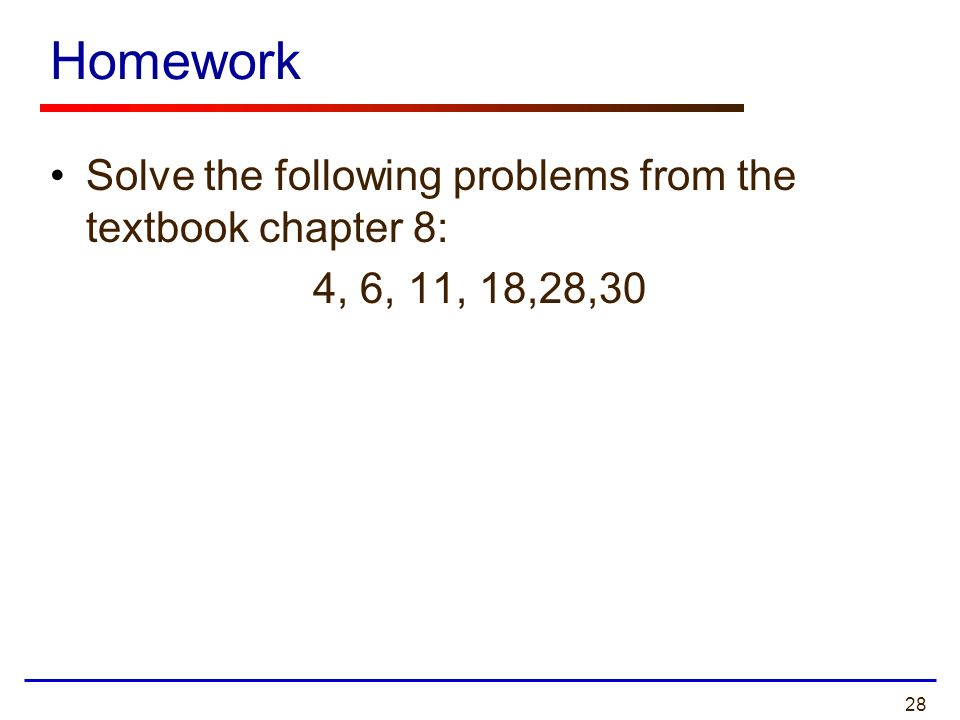 chapter 5 hw problems Real analysis hw 5 solutions problem 7: let f be an increasing real-valued function on [01] for a natural number n, de ne p n to be the partition of [01] into.