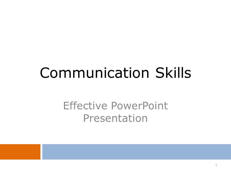Effective Powerpoint Presentation  Ppt Video Online Download