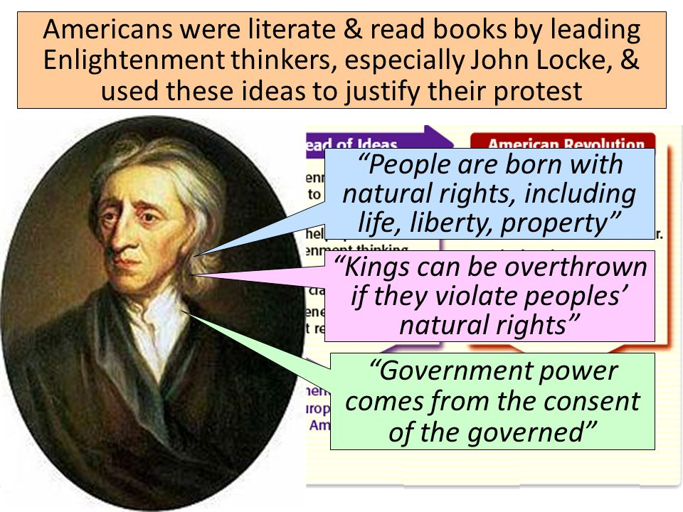 """revolution and political liberty according to john locke John locke is widely regarded as one of the most influential  according to locke,  liberty and estate"""" locke even stipulates that the law of nature."""