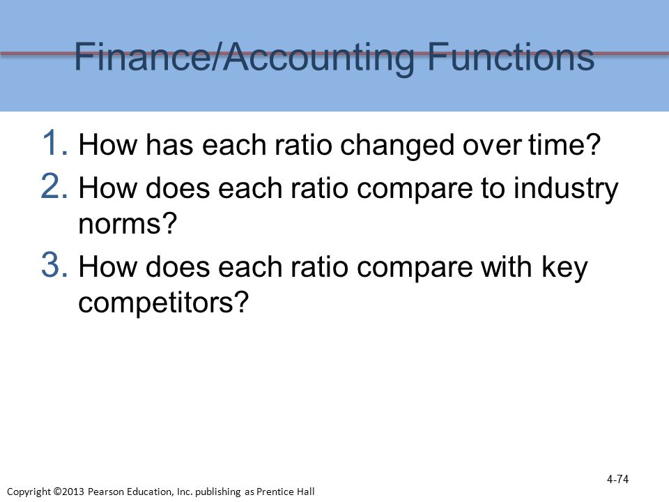 accounting and finance functions in an The accounting and finance function is concerned with the following: financial record keeping of transactions involving monetary inflows or outflows preparing financial statements (the income statement, balance sheet and cash flow statement) for reporting to external parties such as shareholders.