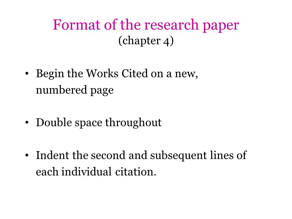 construct chapter 4 research paper Quizlet provides qualitative research quantitative chapter 4 activities, flashcards and games start learning today for free.