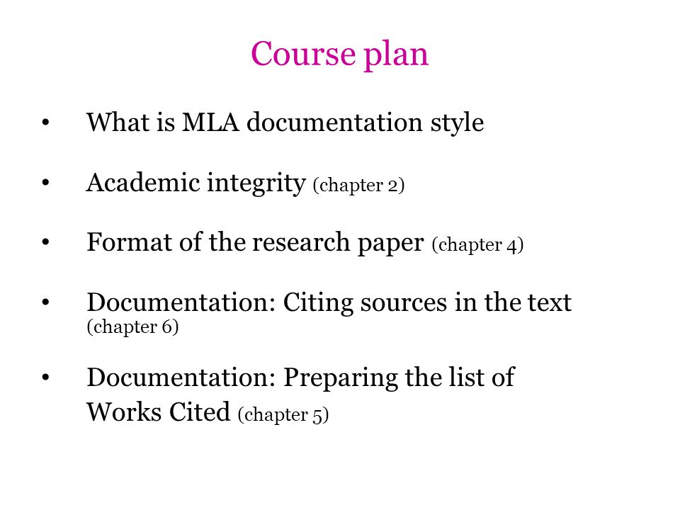 mla documentation style for research papers Papers in accordance with the style required for your course need more information on what a documentation style modern language association documentation.