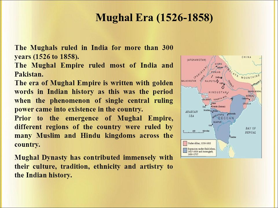 mughal influence on india Mughal empire which was established in the north in the sixteenth century and the vijayanagara empire in the south witnessed the changes that were brought by the printing technology in india.