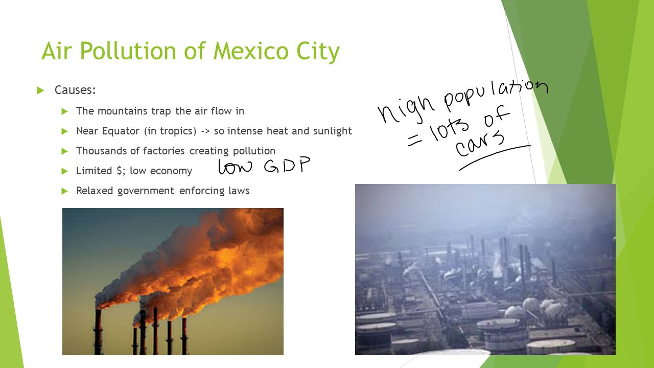 Pollution In Mexico City Effects