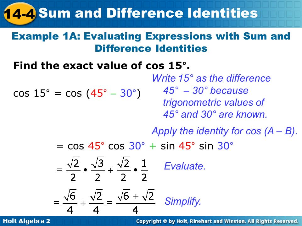 how to find the exact value of cos 30