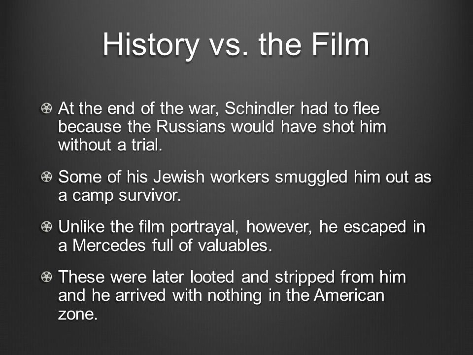 an analysis of the movie the schindler s list directed by steven spielberg Get all the details on schindler's list: analysis  schindler's list (1993) directed by steven spielberg home  polandthe movie takes place in and around the.