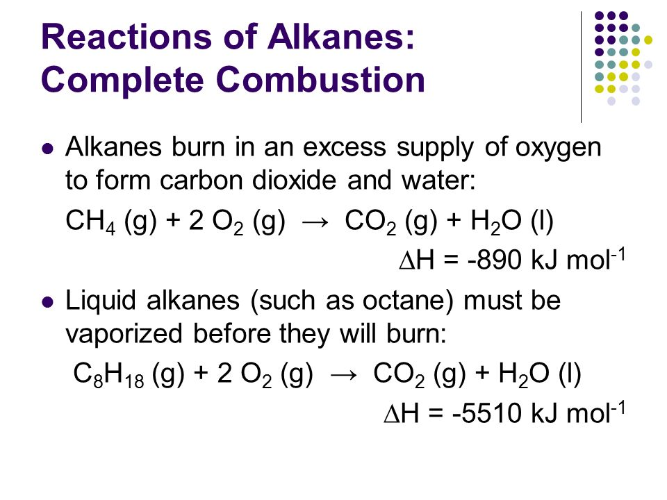 Alkanes Ib Chemistry Topic Ppt Download