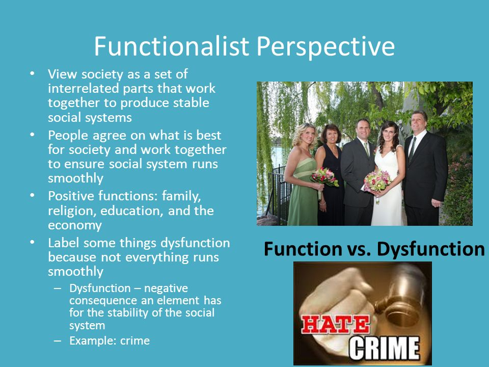 What is functionalism?