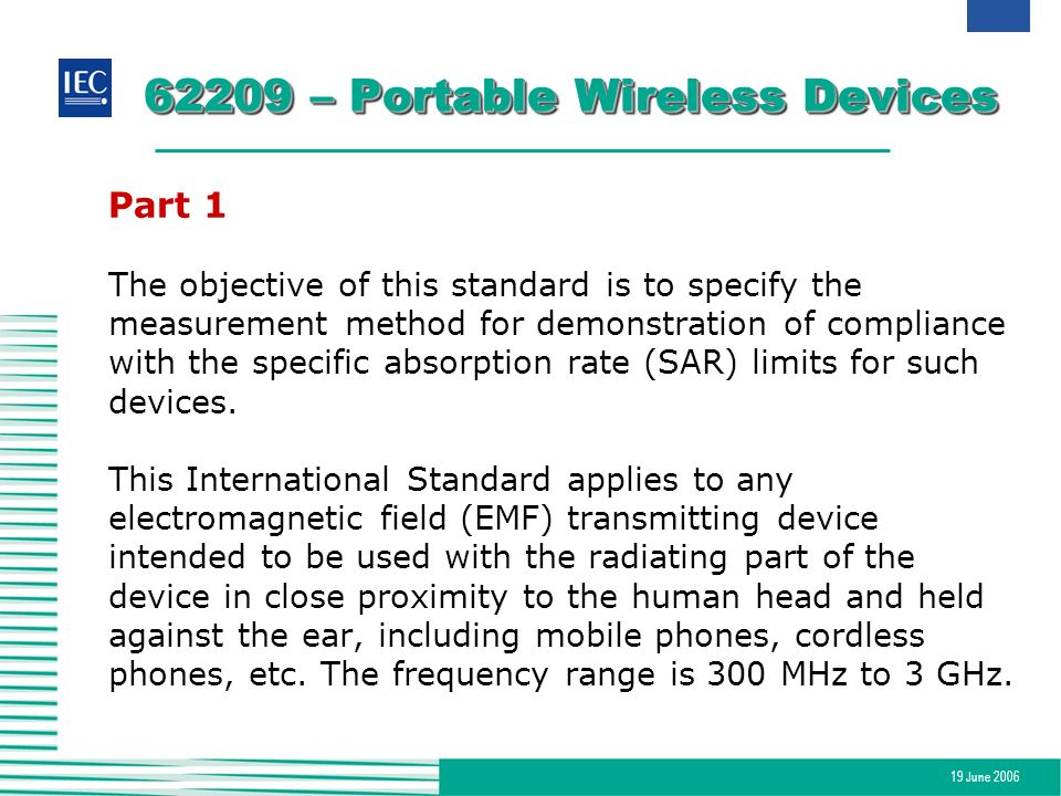62209 – Portable Wireless Devices