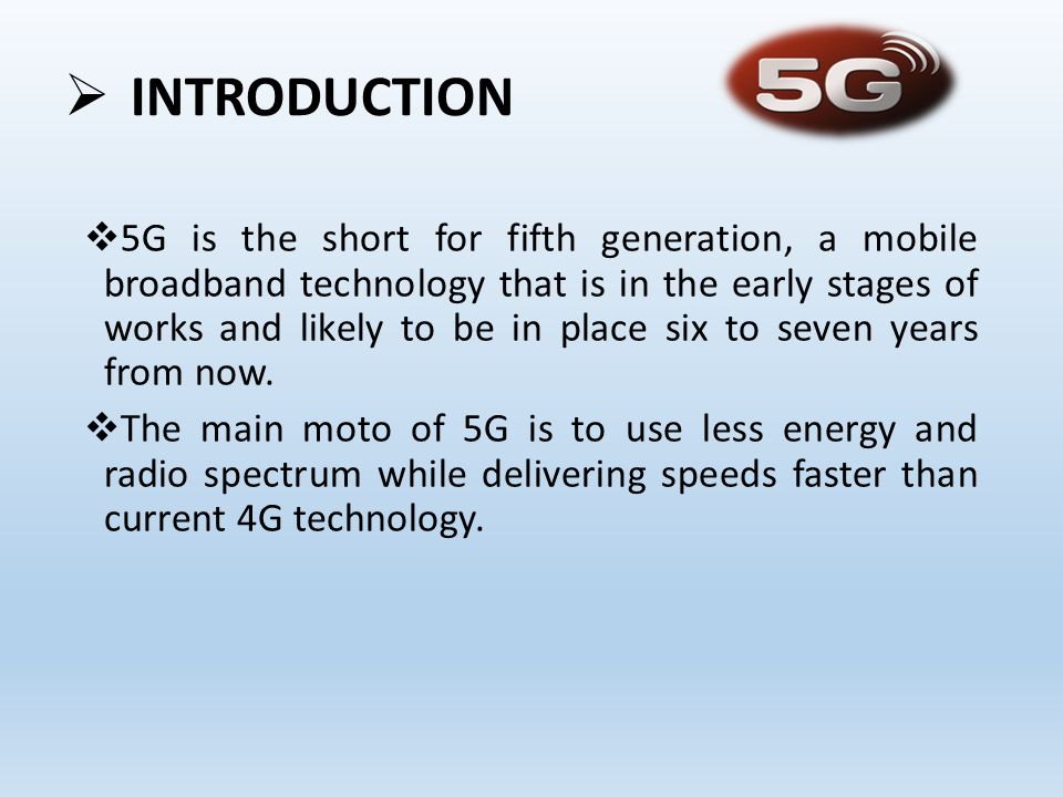 5g Wireless Technology Presented By Siddharth M Ppt