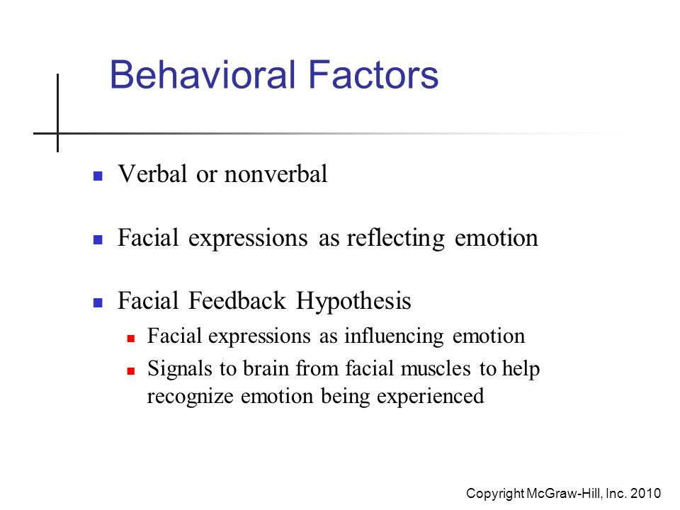 the conservation of emotion hypothesis