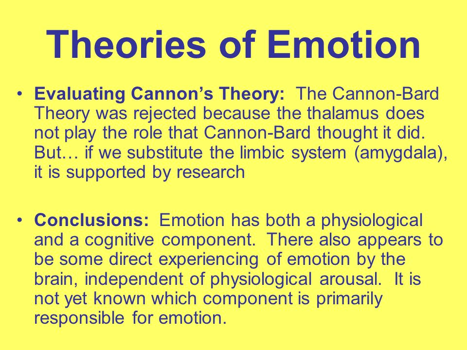 emotions research and theories Research in positive psychology, well-being, eudaimonia and happiness, and the theories of diener, ryff, keyes and seligman cover a broad range of topics including.
