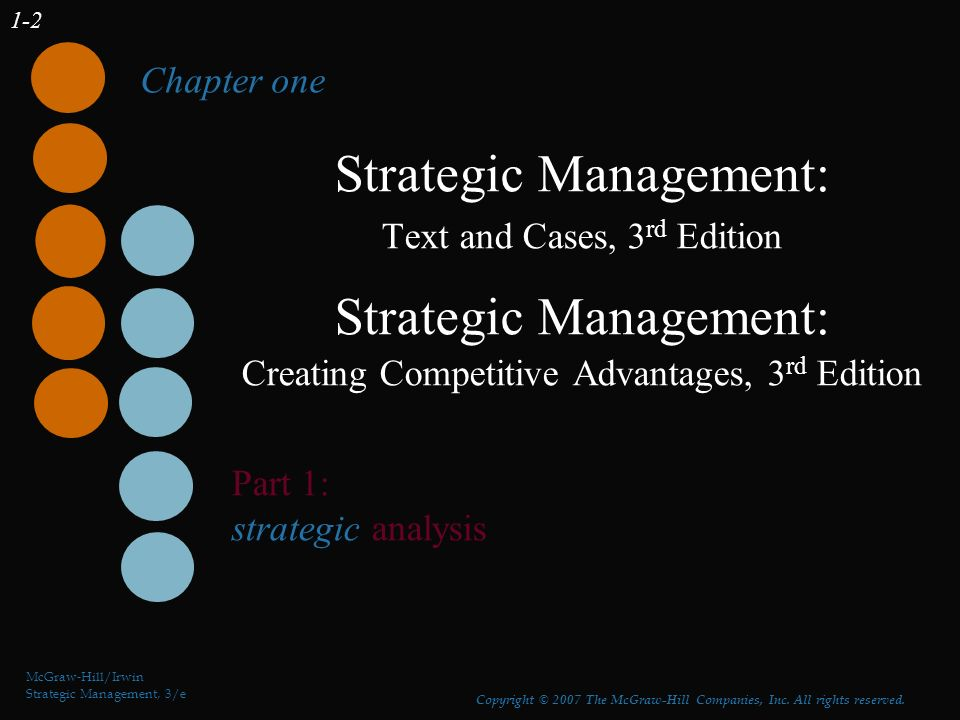 strategic management and competitive advantage 3rd edition pdf