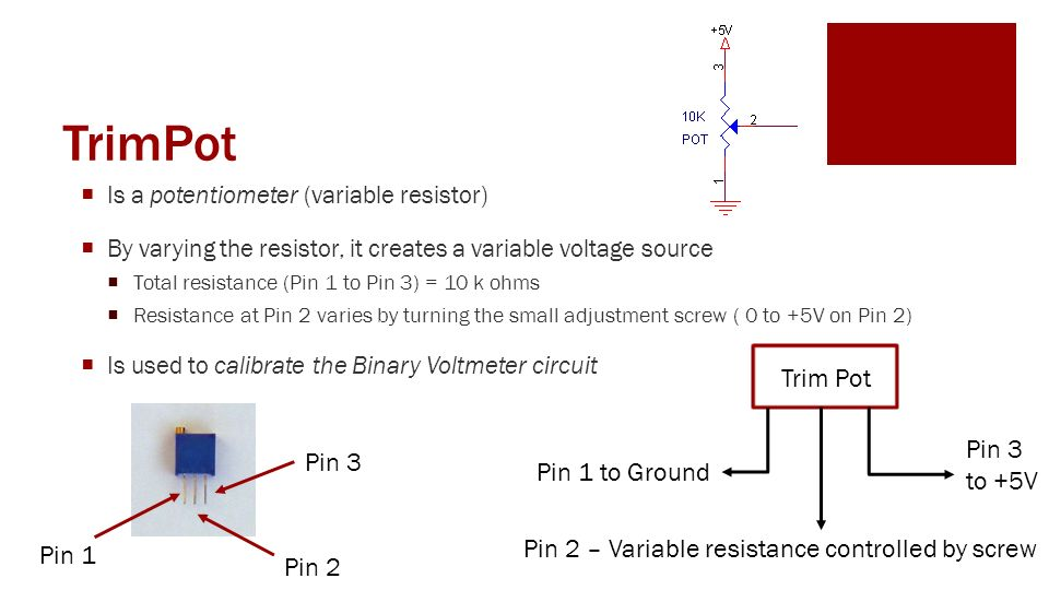 trim pot resistors diagram   26 wiring diagram images