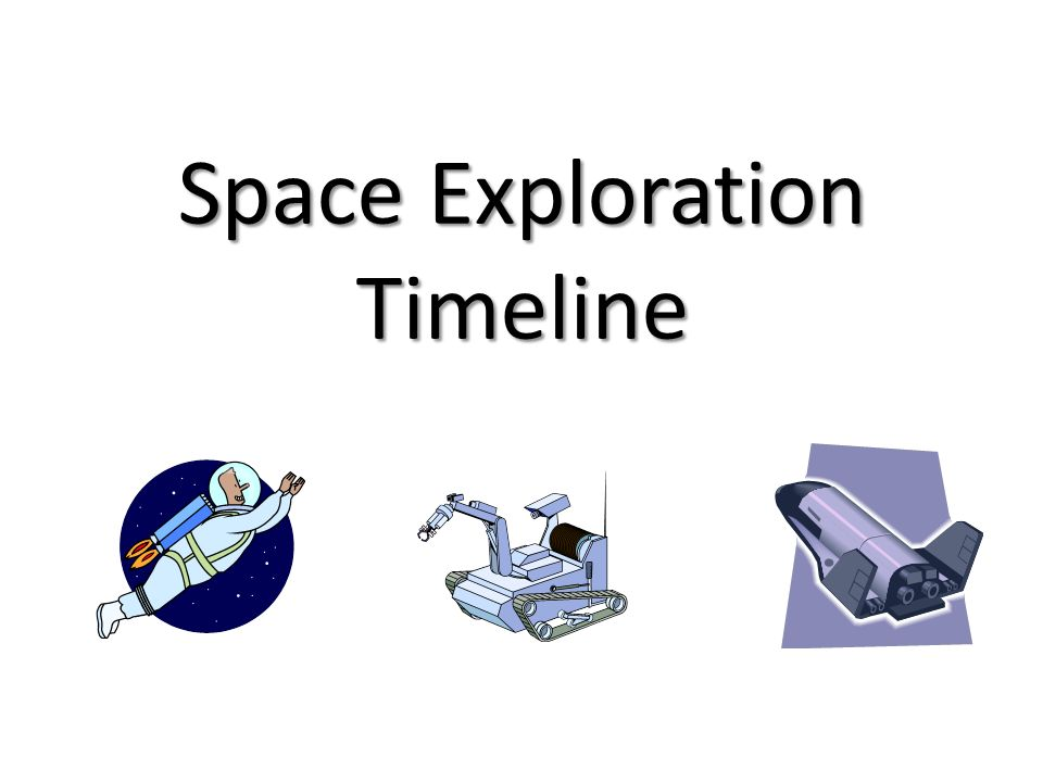 space exploration timeline - photo #9